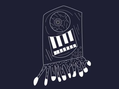 monster minimal vector illustration vectorart vector illustrator illustration design art monster