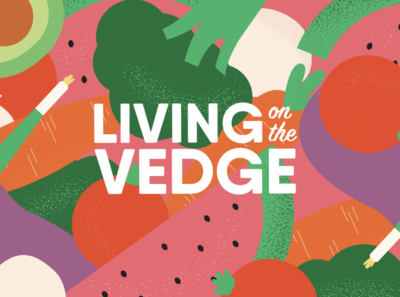 Living on the Vedge pt 2 funky animation video lifestyle plants plant illustration illustration veggies logo cooking cooking channel vegetarian food vegetables vegetarian vegan food veganism