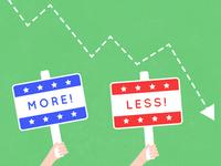 More more more! Less less less!