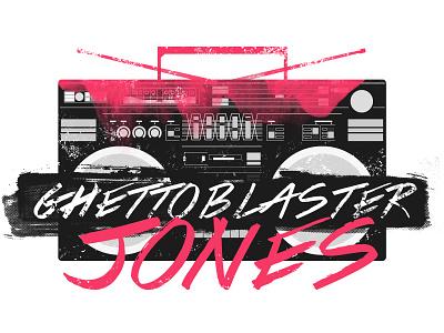 Ghetto Blaster Jones dj music boombox