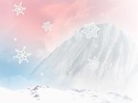 Winter mountain.. land part 1