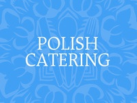 Polish Catering Blue