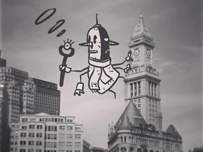 2014 Doodle Monster