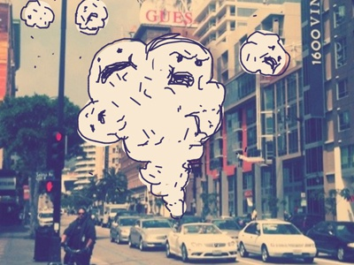 Monster doodle3