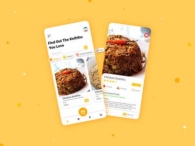 Food Mobile App UI/UX Design food delivery app restuarant food delivery e-comerce food app food and drink food foodie mockup eat healthyfood mobile ui mobile app ui modern appdesign uiux design concept uiuxdesign