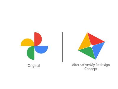 Google Photos Logo-Logo Redesign My Concept logo redesigns alternative logodesign logos best concept logo concept redesign concept logo redesign logo google photo