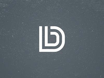 DB Monogram monogram logo vector