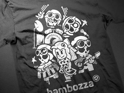 Bambozza t-shirt print fun bambozza music toy character
