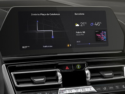 BMW The 8 • Interface Concept
