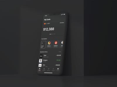 Financial App — Design exploration.