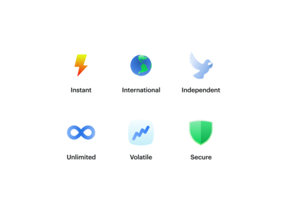 New set of icons