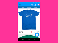 Type Tees Material Design
