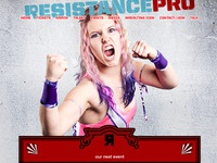 Resistance Pro homepage