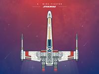 Star Wars - X Wing Fighter
