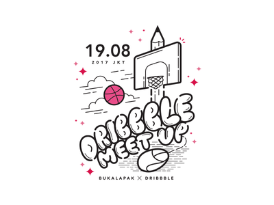 Bukalapak Dribbble meet up ux ui desktop app icon typography illustration jakarta logo badge dribbble dribbble meet up