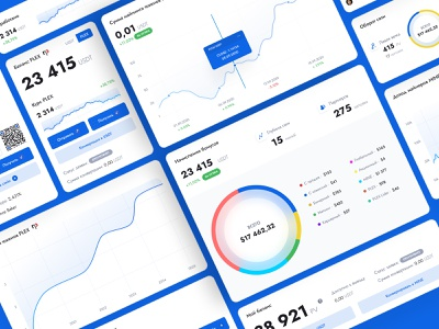 Dashboard design - Crypto bank dashboard design crypto bank crypto wallet crypto dashboard homepage ux ui figma illustration digital design