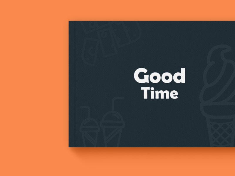 Good Time - Brandbook brand identity brandbook typography vector logo illustration graphic design branding design
