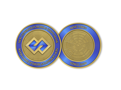 Tokens - Mineplex token branding tokenization cryptobank cryptocurrency crypto token coins tokens icon illustration branding logo vector graphic design design