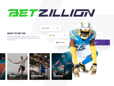 Betting platform | Betzillion cards sport cybersport website homepage dashboard figma webdesign ux ui digital design betting