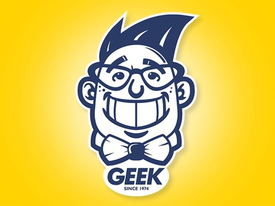 GEEK Illustration aris española graphic design aris philippines manila makati pinoy designer filipino apparel logo tshirt