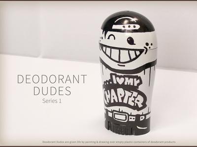 Deodorant Dudes & Dudettes - Chapter Lover