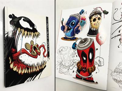 The Art of Alex Garcia design adobeillustrator digitalart illustration cartoon illustrator vector artbook