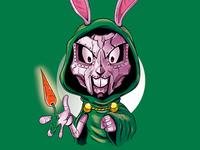 Bugs vs Doom drdoom bugsbunny adobeillustrator digitalart illustration adobe cartoon illustrator vector