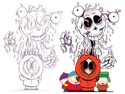 Southpark digitalart southpark adobeillustrator adobe illustration cartoon design vector illustrator