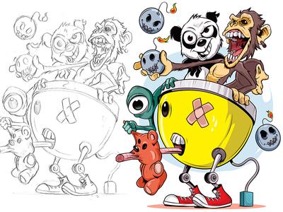 Transport adobe graphic cartoon adobeillustrator digitalart illustration illustrator vector