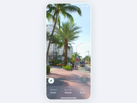 Lime — Virtual Parking Assistant product animation travel navigation scooter vr ar app clean design minimal ux ui