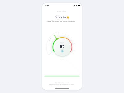 Lime — Drunk Test scooter mobile test vr ar sobriety design app animation clean minimal ux ui