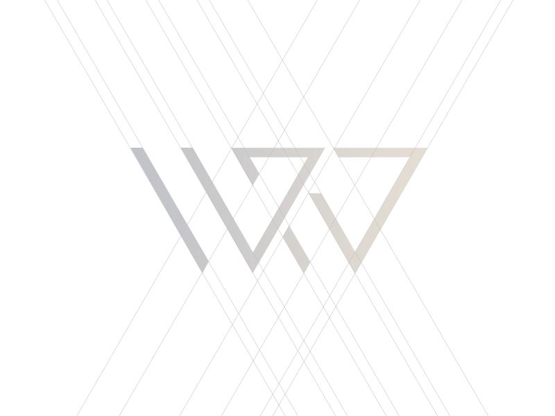 W&W — Walter & Wronski signet identity legal lawyers law monogram logotype sign logo