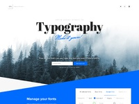 Typographylp forest