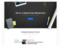 UX on a Global Scale Masterclass
