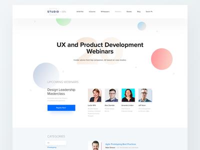 UXPin Studio — Webinars