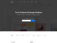 Uxpin homepage 2017 a