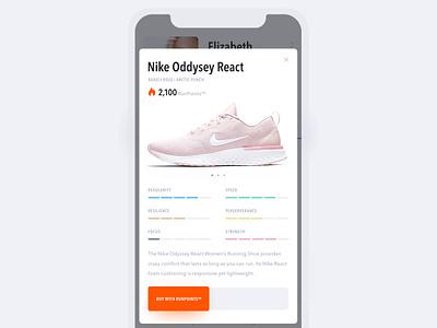 run4rest™ — Running App iphonex ecommerce sport running ios mobile minimal clean ux ui animation app
