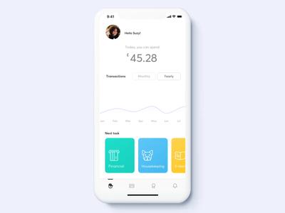 Pockee – a family banking app ui app kids app illustration animation family kids finance banking fintech mobile app ux