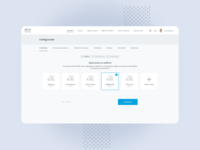 Board - Configuration list product app layout web ui ux design