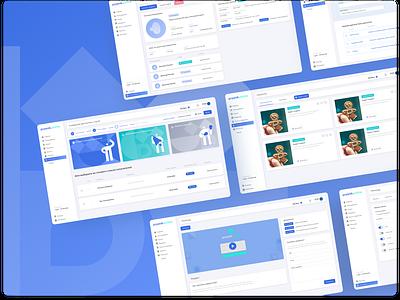 Pryanik.Online dashboard design dashboard ui dashboard main page statistics ui uiux product product design productdesign