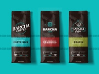 Barcha Coffee Logo Design
