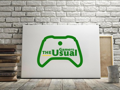 The Usual Gamers Logo design gamers logo