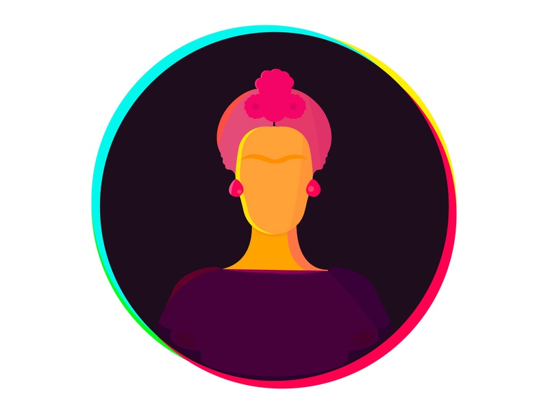 Frida frida vector illustration