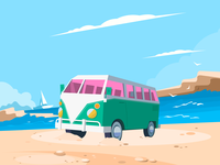 Beach-Retro