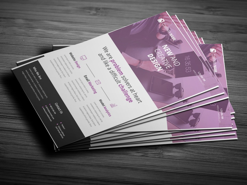 Corporate Flyer hellodribbble poster product packaging business card fb banner social media cover illustrator photoshop flyer branding corporate mordern logo image brand identity mockup new unique simple