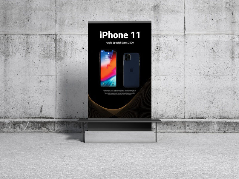 iphone special Event poster Template ipad photoshop illustration social media banner socialmedia ui ux corporate cover mockup image brand identity mordern unique new simple icon