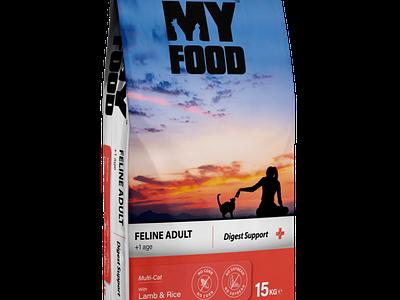 Myfood Pet Food Package Design packaging design package design design