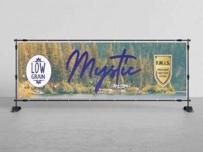 Mystic Pet Food |Banner Design (Tarpaulin) banner design banner