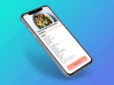 Expressfood app example of food infromation mobile application food ui ux app illustration uxui adobe userinterface userexperience adobexd design