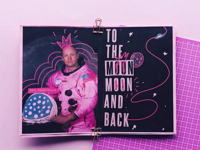 Fanzine sobre Neil Armstrong